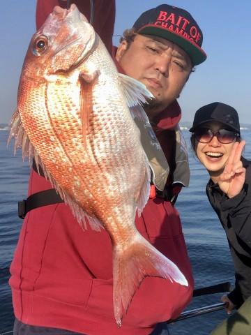 古川さんに・・・ピンクの580gが・・・!