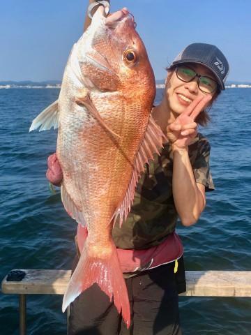 2.12kgの綺麗なピンク・・・!