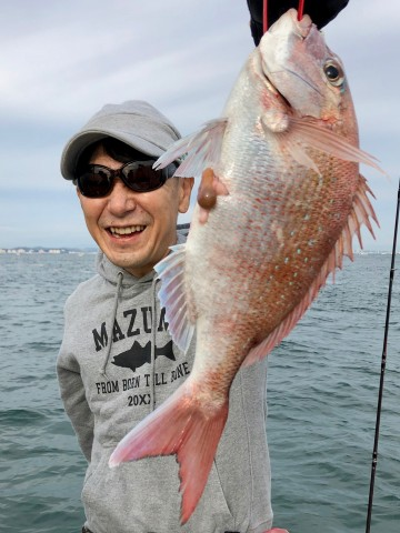 浅野さん・・900gのピンク・・・!