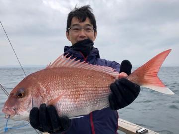 初めてのタイラバで2.31kg・・・村田さんおめでとう・・・!