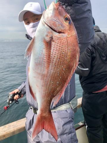 井坂さん・・・1.00kg・・・綺麗なピンクです・・・!