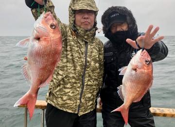 鈴木さん・浜ちゃん・・・ダブルヒット・・1.06kgと900g・・・!