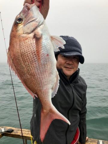 樋口さん・・・ピンクは1.19kg・・・!
