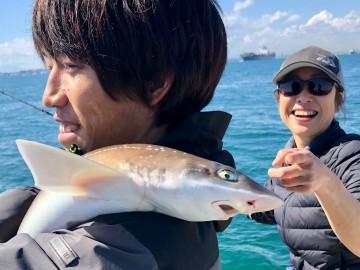 最後の獲物はサメでした・・・!