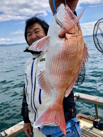 木村さんに綺麗なピンクが・・・! 長い一日・・・!